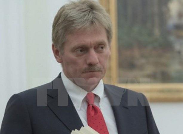 Người phát ngôn điện Kremlin Dmitry Peskov. (Nguồn: Sputnik/AFP/TTXVN)