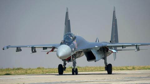 Siêu máy bay của lần đầu được thể hiện ở Syria