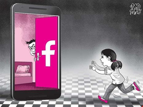Báo động nạn xâm hại tình dục qua mạng. (Ảnh minh họa)