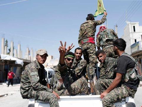 Các lực lượng dân chủ Syria (FDS) tại Raqqa. Ảnh: News.ru