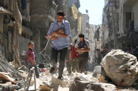 Nga khuyến cáo người dân nên rời khỏi Aleppo.