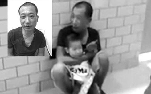 """Đối tượng """"ngáo đá"""" bắt cóc bé trai ở siêu thị Fivimax (Tây Hồ, Hà Nội) ngày 4/10."""