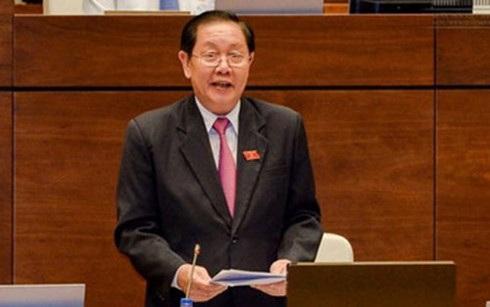 Bộ trưởng Lê Vĩnh Tân trả lời chất vấn tại nghị trường