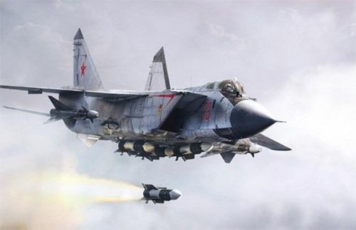 Nga công bố lý do triển khai máy bay tiêm kích Mig-31 tới Syria - 1