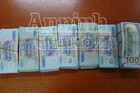Số tiền 1.6 tỷ mà đối tượng trộm cắp