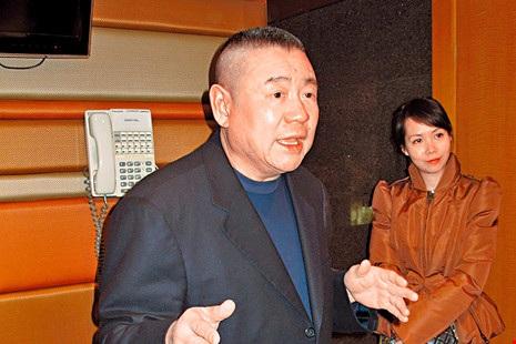 Tỉ phú Hong Kong Joseph Lau. Ảnh: AP