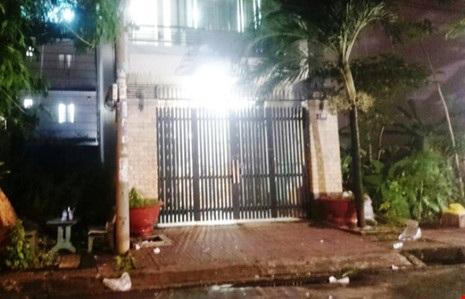 Căn nhà trên đường số 7A - nơi người đàn ông Đài Loan bị nhóm giang hồ nhốt.