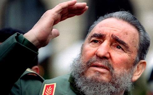 Lãnh tụ Fidel Castro.