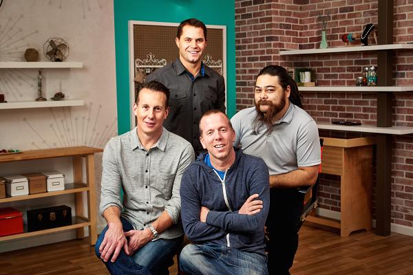 Bốn nhà đồng sáng lập của Craftsy. Ảnh: CNBC