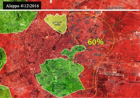 Cuộc tấn công giai đoạn 2 khởi động vào phía Bắc Aleppo. Ảnh: South Front