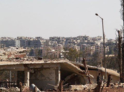 Học viện quân sự ở Aleppo đã sạch bóng phiến quân