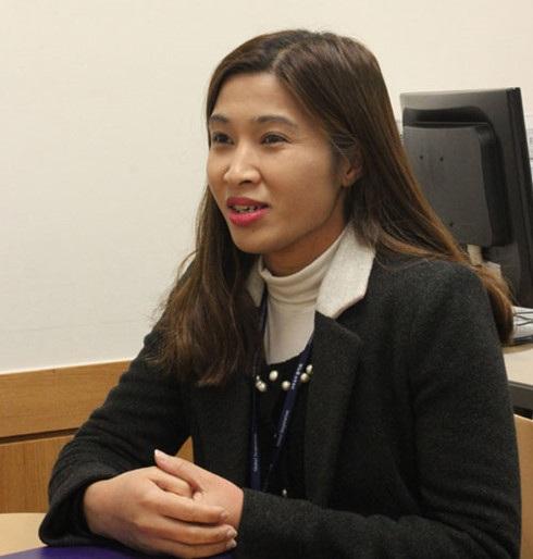 Chị Trúc Phương hiện đã có cuộc sống ổn định, hạnh phúc và tự tin hòa nhập cộng đồng.