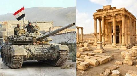 Cuộc tấn công của IS ở Palmyra khiến quân đội Syria khốn đốn
