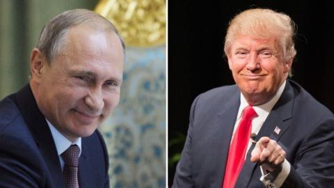 Ông Donald Trump không lo nguy hiểm từ Nga.