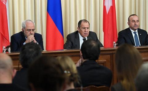Đàm phán 3 bên về tình hình Syria.