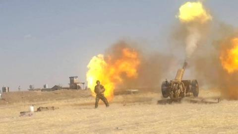 Quân đội chính phủ và dân quân địa phương mở cuộc tấn công IS ở toàn đất nước Syria