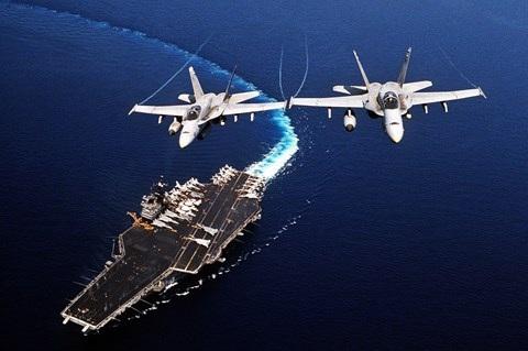 Hải quân Mỹ hiện có 11 tàu sân bay