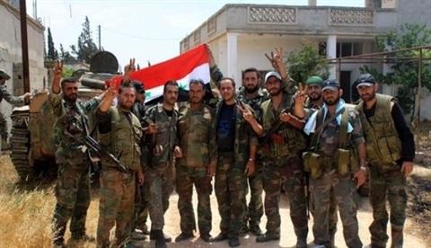 Quân đội Syria đang mở một loại chiến dịch trên toàn đất nước