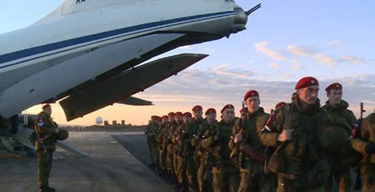 Lực lượng cảnh sát quân sự Nga đã đến Aleppo