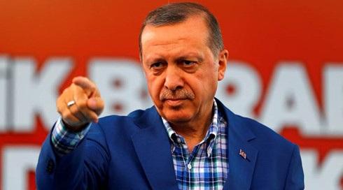 Tổng thống Thổ Nhĩ Kỳ Erdogan. Ảnh: IndianExpress.