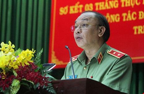 Trung tướng Lê Đông Phong - Giám đốc Công an TP.HCM.