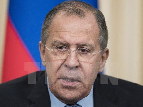 Ngoại trưởng Nga Sergey Lavrov. (Nguồn: AP/TTXVN)