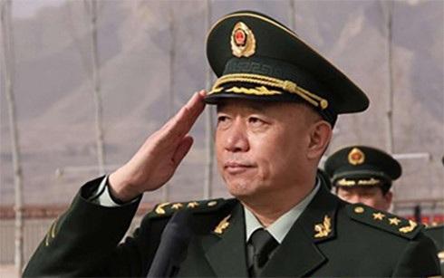 Phó Tổng tham mưu trưởng Bộ Tham mưu liên hợp Quân uỷ Trung ương Trung Quốc Vương Kiến Bình đã bị bắt giữ để điều tra cáo buộc tham nhũng. (Ảnh: scmp)