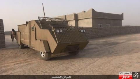 Loại xe đánh bom (VBIED) của IS gây khó khăn trên chiến trường Syria