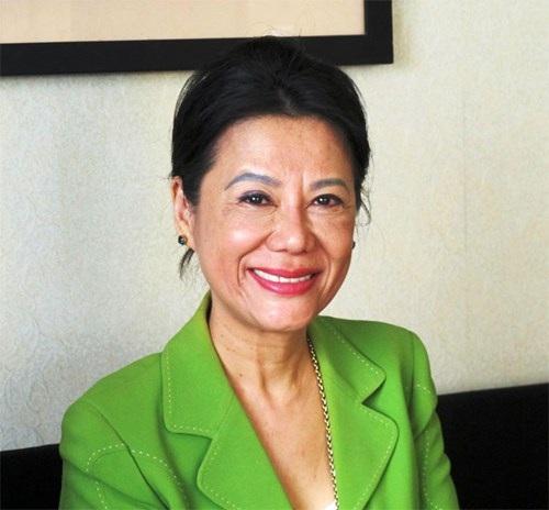 Đại sứ Du lịch Việt Nam tại Pháp Anoa Dussol Perran. Ảnh: Phương Linh