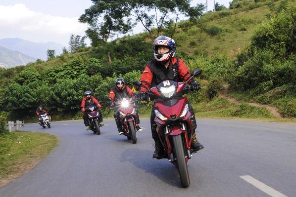 """Honda WINNER 150 số 7 đồng hành cùng Cường Seven trên suốt 800km chinh phục cực Tây trong hành trình """"4 đỉnh cực – Vạn chân trời"""""""