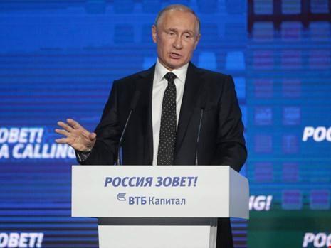 Putin vạch mặt khổng bố gây ra những tang thương gần đây.