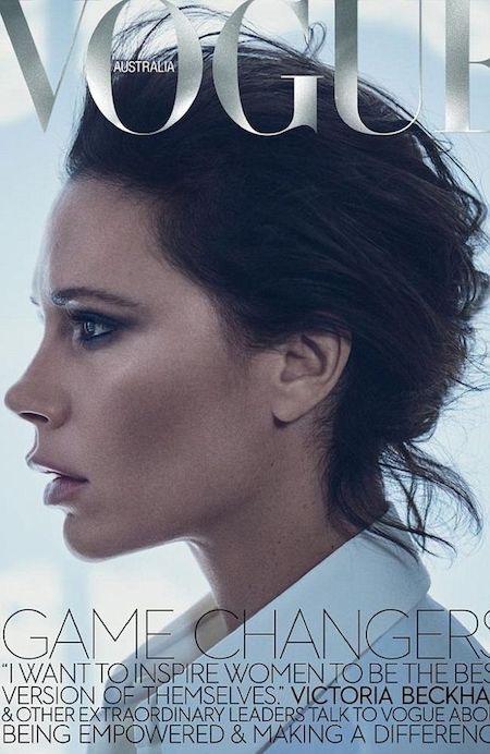 Victoria Beckham vừa xuất hiện trên trang bìa tạp chí Vogue Úc