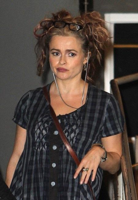 Helena Bonham Carter nổi bật với phong cách kỳ quặc