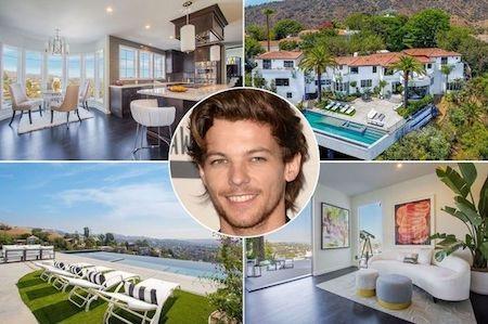 """Louis Tomlinson vừa """"tậu"""" nhà mới với mức giá siêu khủng"""