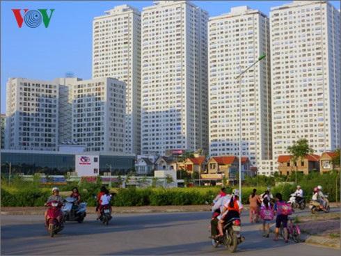 Nhiều khu chung cư được xây dựng tại phường Hoàng Liệt, quận Hoàng Mai nhưng đến nay chỉ có duy nhất 1 trường tiểu học