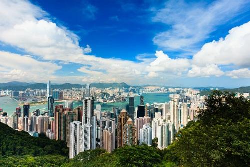 Hồng Kông có nhiều trung tâm tài chính quan trọng và vô số toà nhà cao chọc trời nhất trên thế giới. Ảnh: Coolephotography.