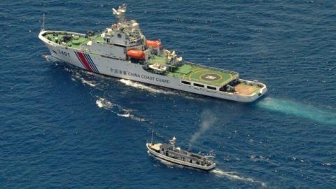 Tàu tuần duyên Trung Quốc hoạt động trên Biển Đông