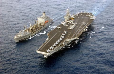Biên đội tàu sân bay USS Harry S. Truman đã rời Địa Trung Hải hồi tháng 6/2016.