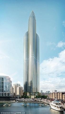"""Tòa tháp cao nhất châu Âu giống hệt """"của quý"""" khổng lồ - 2"""