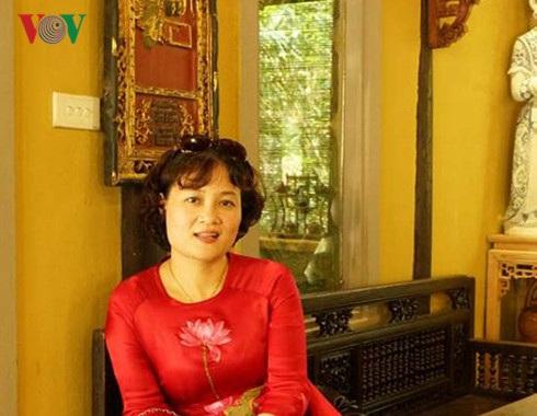 TS Nguyễn Thị Việt Hương, Phó Hiệu trưởng trường Đại học Văn hóa Hà Nội.