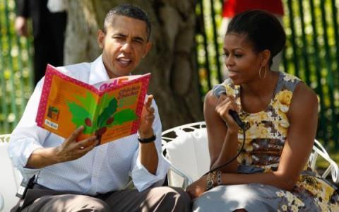 Vợ chồng ông Obama. Ảnh: Telegraph