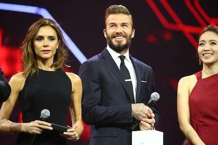Victoria Beckham xinh đẹp dự sự kiện cùng ông xã