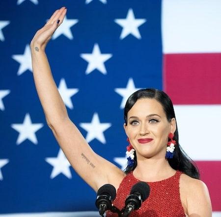 Katy Perry là một ngôi sao rất tích cực hoạt động xã hội