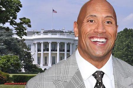 Dwayne Johnson muốn tranh cử Tổng thống vào năm 2020