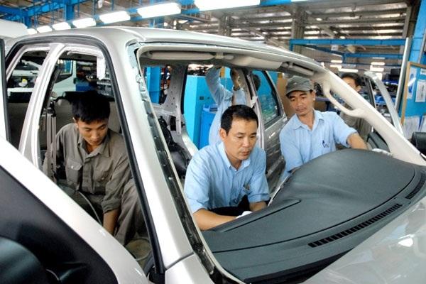 Ngành công nghiệp ô tô hiện đóng góp 2% GDP, tạo việc làm cho khoảng 100.000 lao động
