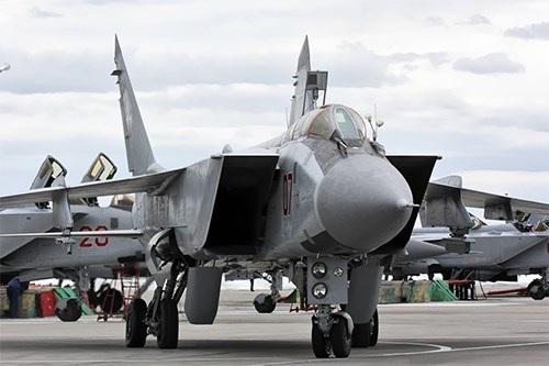 Máy bay tiêm kích hạng nặng Mig-31. Ảnh: Rian.