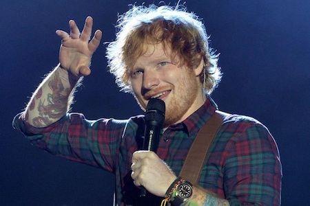 """Ed Sheeran, """"cỗ máy in tiền"""" mới của làng giải trí Anh quốc"""