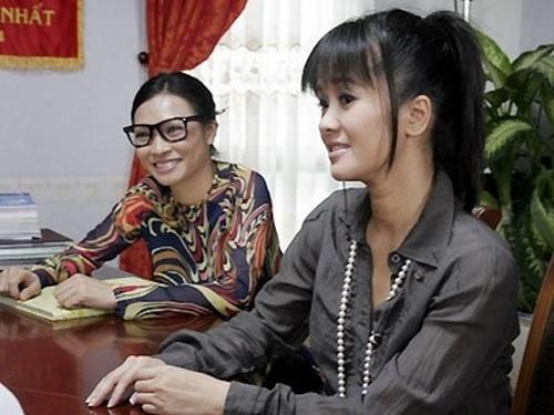 2 ca sĩ Phương Thanh và Hồng Nhung đều từng là giáo viên…trên màn ảnh
