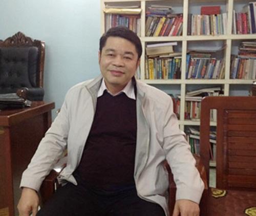 Chuyên gia phong thủy - TS Lê Xuân Phương.