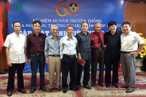 Những cựu sinh viên khoa Ngữ Văn, Trường Đại học Tổng hợp Hà Nội.